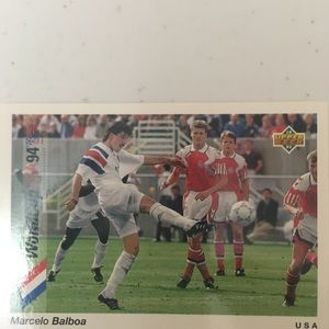 Trading card World Cup USA 94